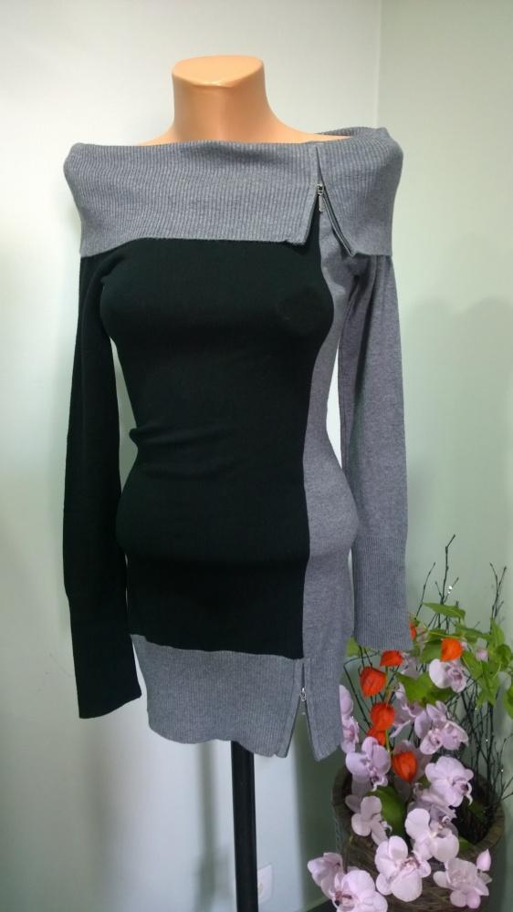 sweter golf zip XS