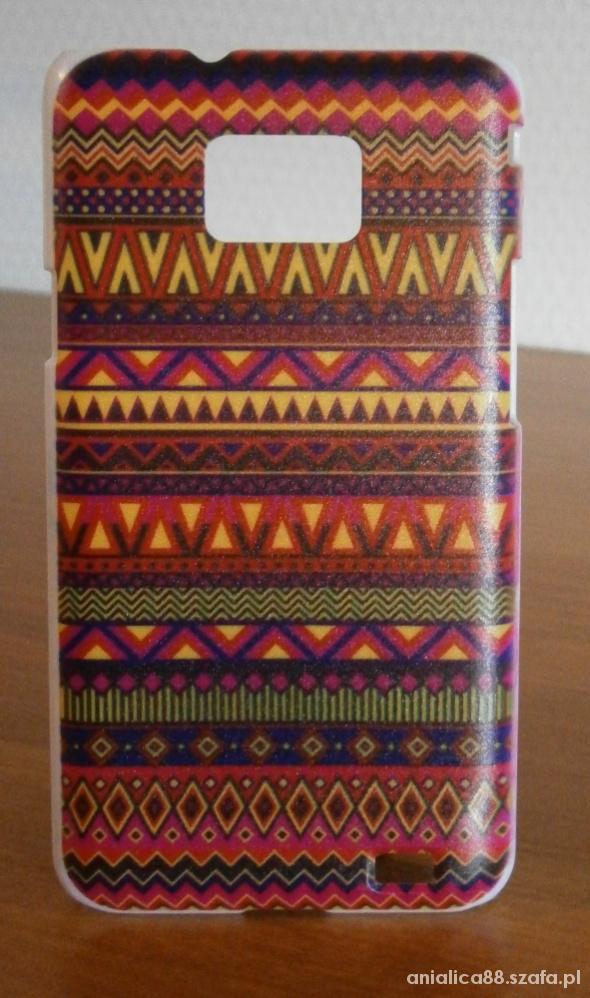 Samsung Galaxy S2 case etui obudowa aztec wzór