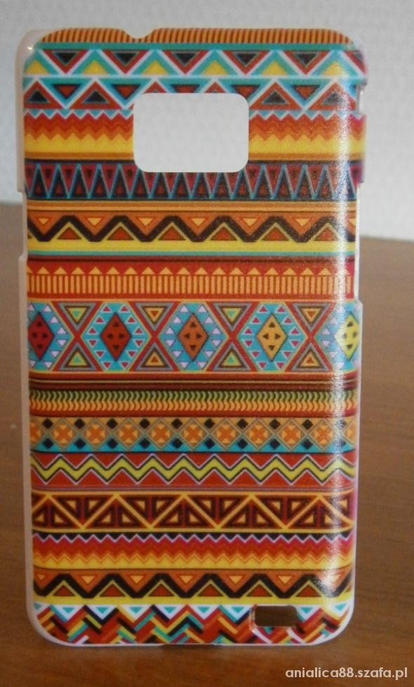 Samsung Galaxy S2 etui case obudowa wzór aztec