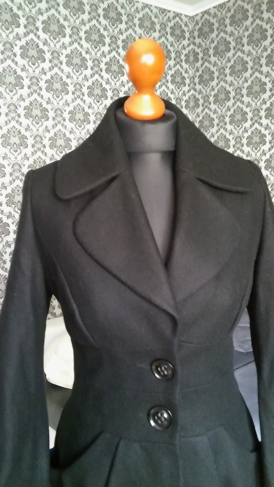 Płaszcz asymetryczny 34 Miss Selfridge...