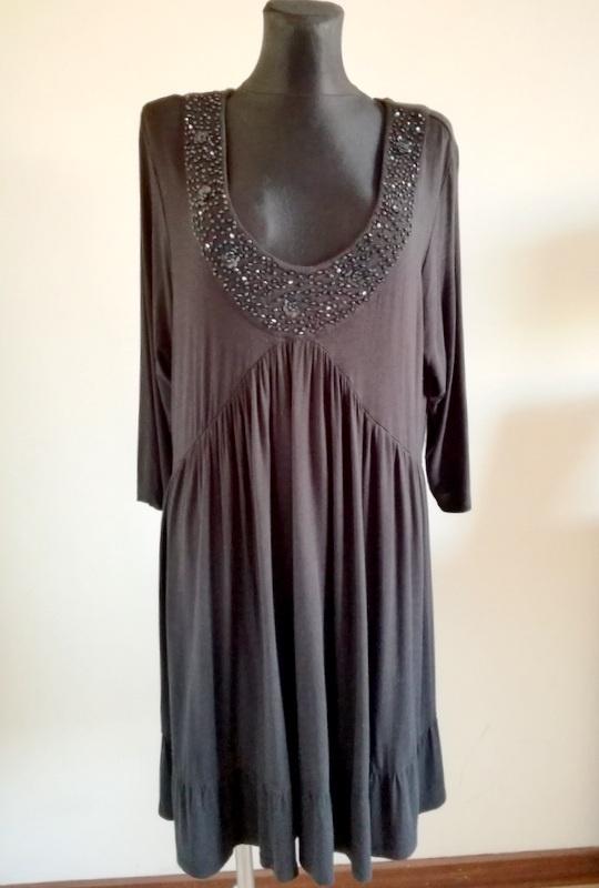 Czarna sukienka YOURS 50 52