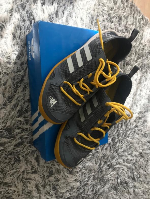 Adidas buty sportowe szaro zolte 42...
