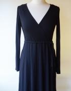 Sukienka H&M Basic Do Karmienia Czarna S 36 Elegancka...