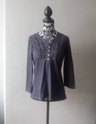 Granatowa bluzka...