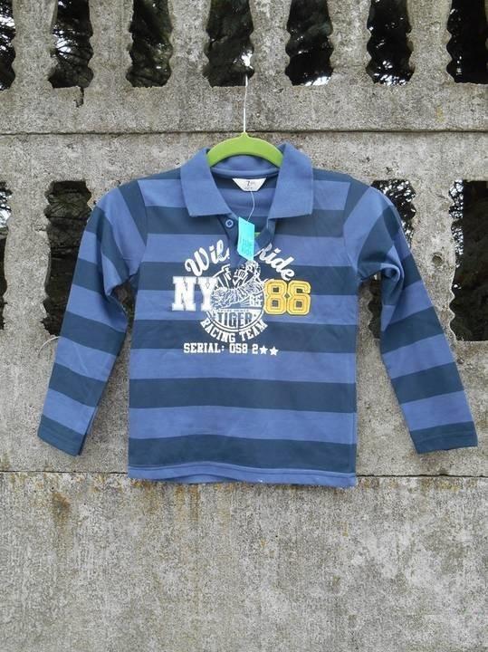 Nowa bluzka 122 na 7 lat koszulka polo