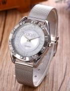 Zegarek damski z cyrkoniami...