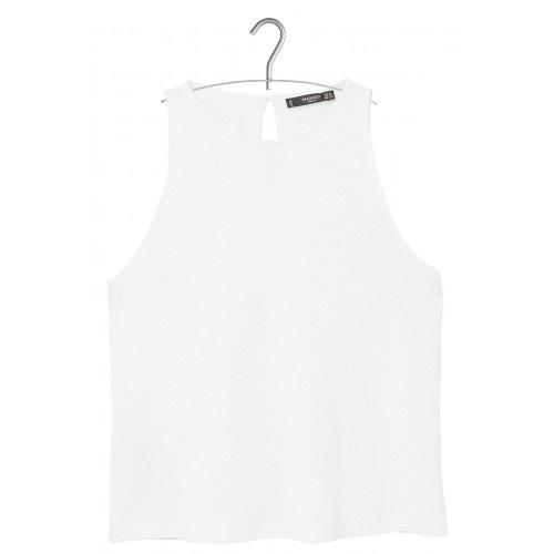 Mango nowa klasyczna biała bluzka XS...