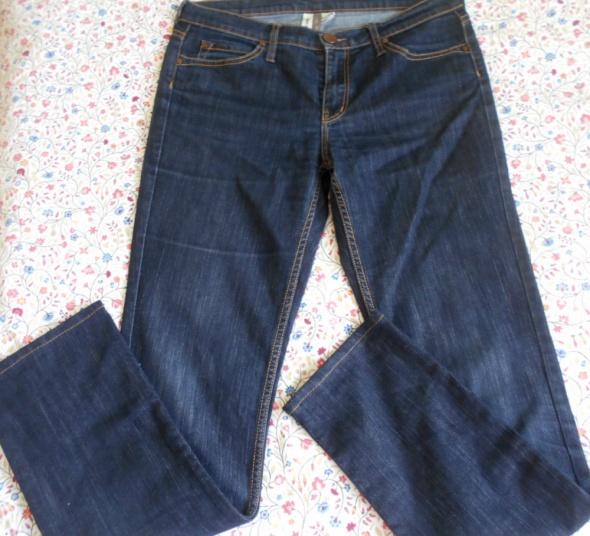 Mango nowe jeansy ciemne rurki skinny fit slim...