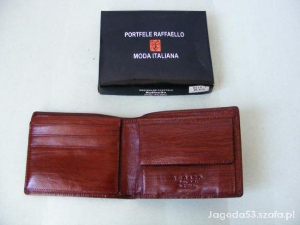 Włoski portfel Raffaello WITTCHEN...