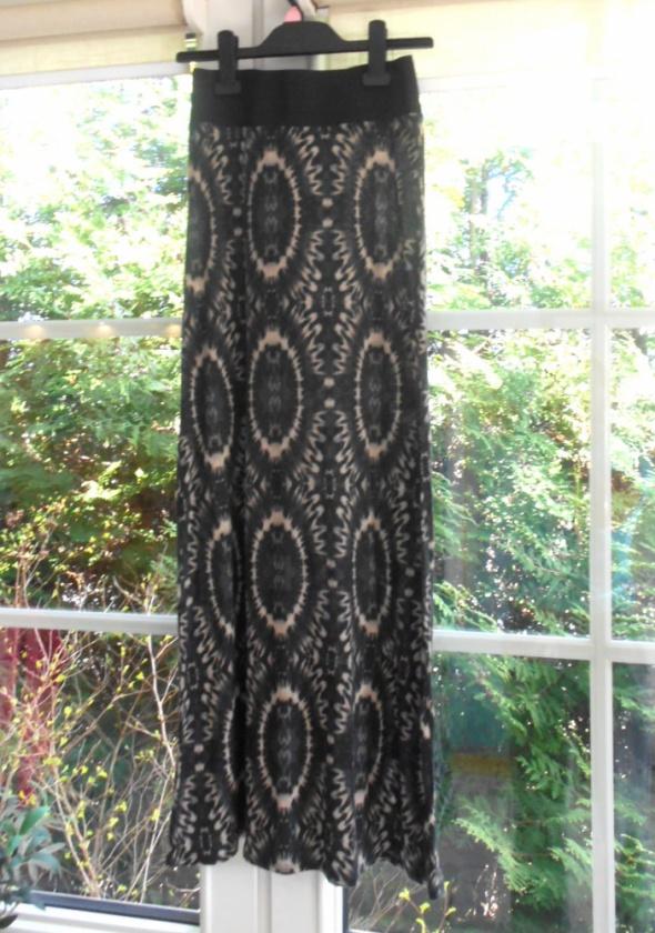Dorothy Perkins maxi spódnica wzory aztec azteckie...