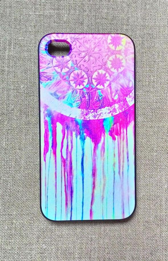 Nowe etui case iPhone 5 5S obudowa print wzór łapa