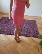 Neonowa sukienka h&m...
