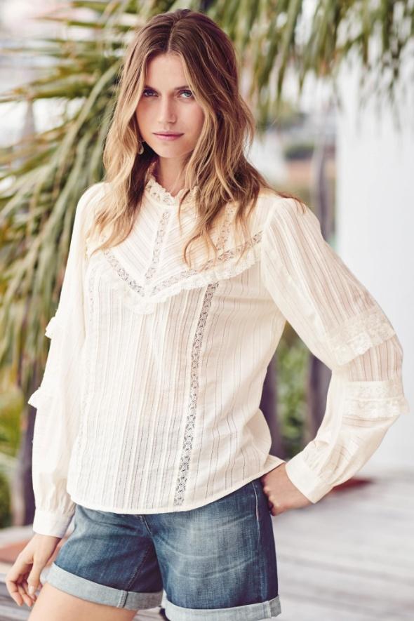 Biała koronkowa bluzka Next rozmiar L nowa...