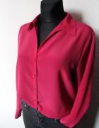 Elegancka koszula w kolorze fuksji r około L...