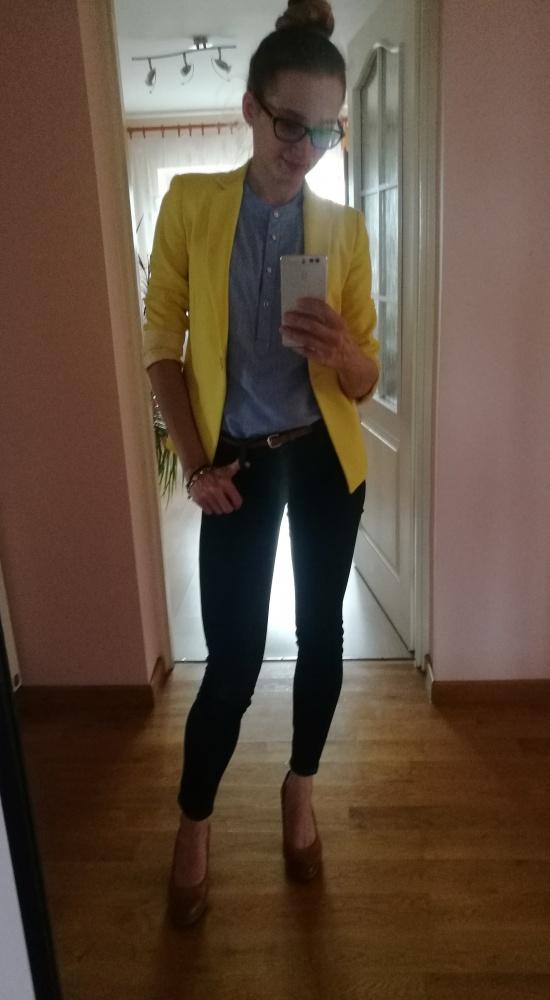 Mój świat na żółto i na niebiesko