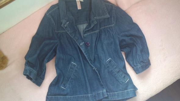 Narzutka jeansowa katana urocza M L
