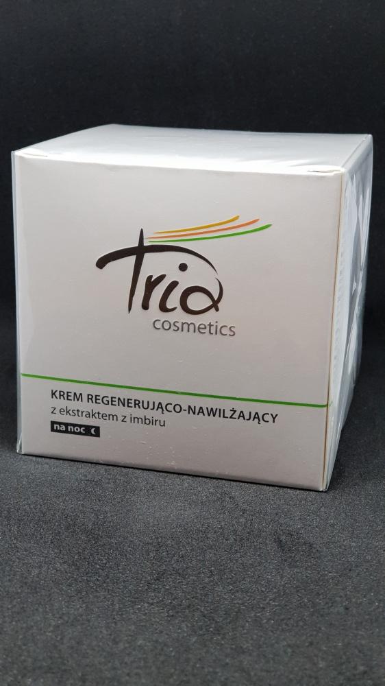 TRIA cosmetics Krem regenerująco nawilżający z ekstraktem z imbiru na noc