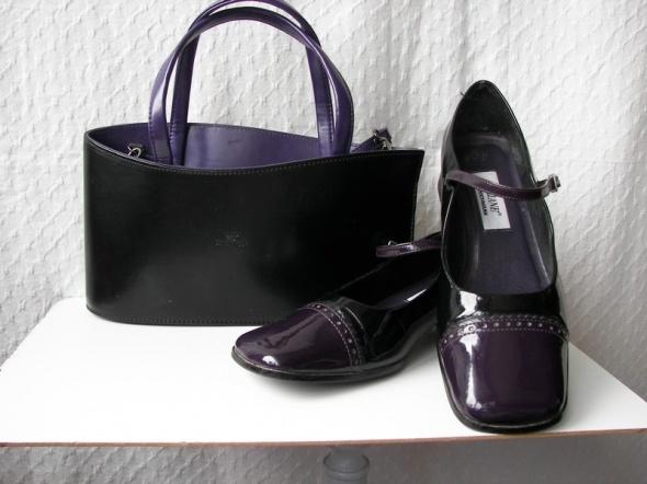 torebka skórzana Daniela Moda z bucikami gratis