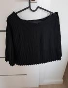 Czarna plisowana spodnica HM roz 40...