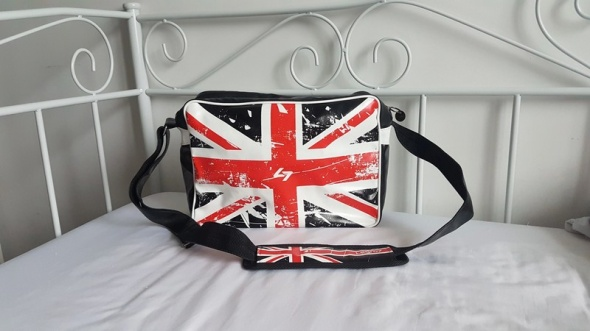 Torba flaga UK czarna
