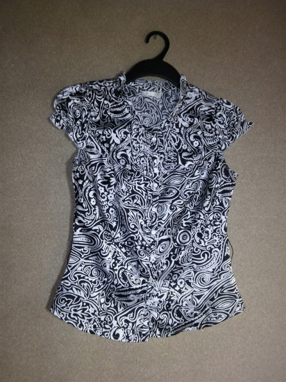 Satynowa elegancka bluzka koszula 36 Reserved