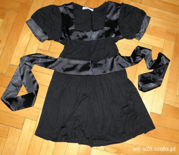 czarna elegancka tunika promod 36