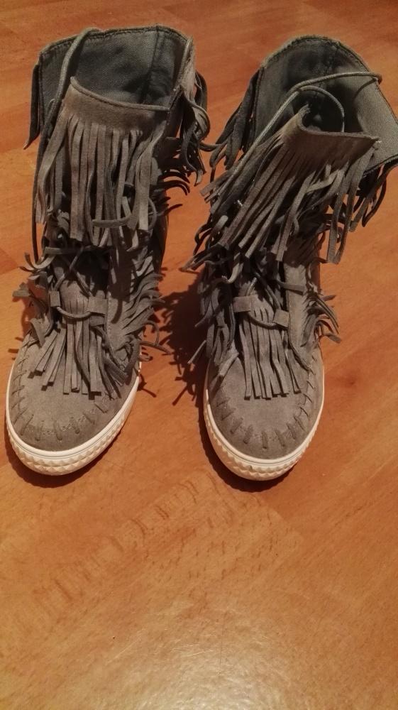 buty z frędzlami deezee