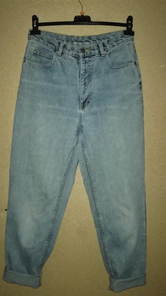 Jeansy mom jeans vintage retro lata 90 te 40