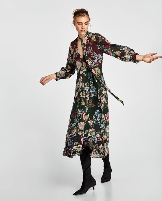 Długa sukienka Zara...