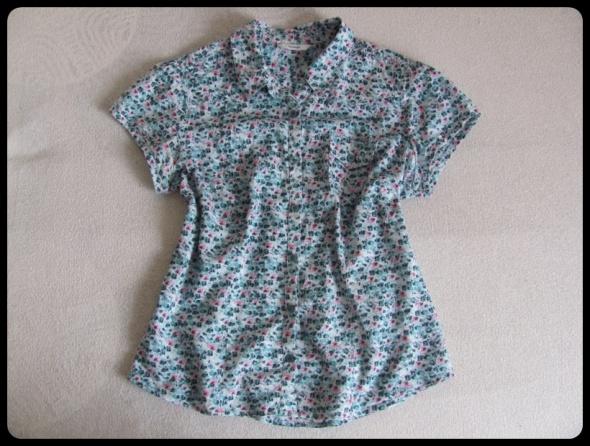 GEORGE koszula w drobne kwiatki rozmiar 44 XXL
