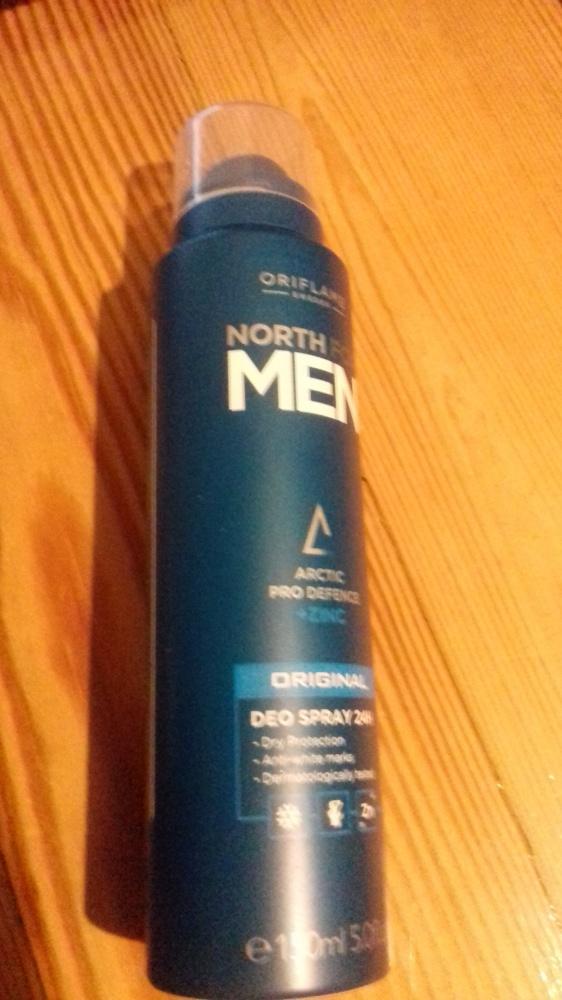 Antyperspiracyjny dezodorant 24 h North for Men Original Nowy