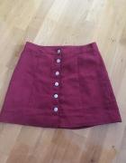 Modna spódniczka H&M bordowa...