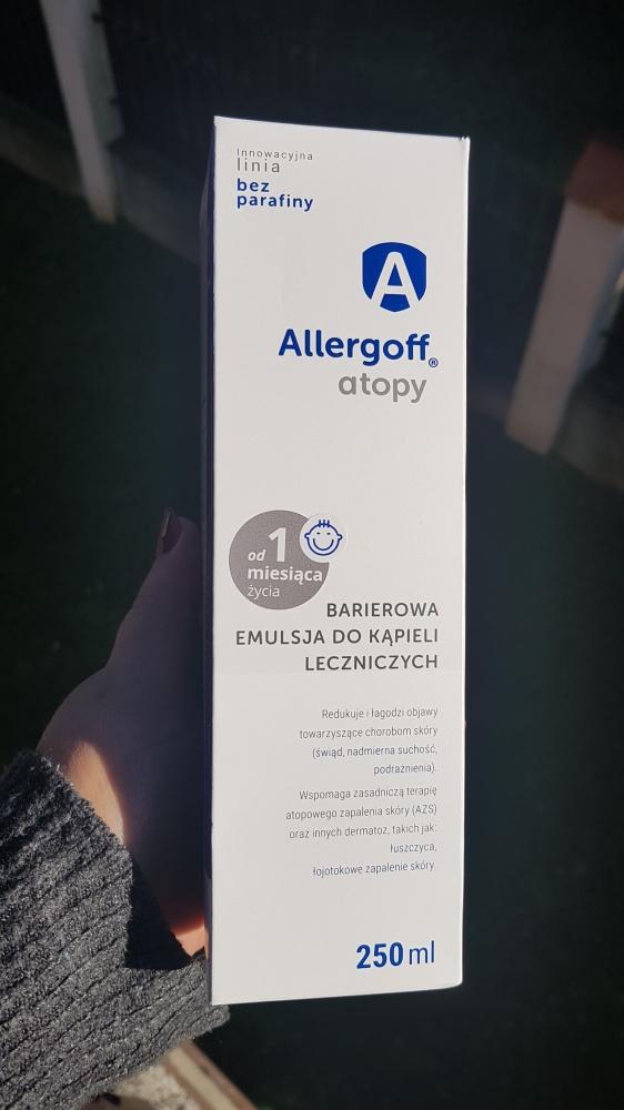 Allergoff Atopy Barierowa emulsja do kąpieli leczniczych