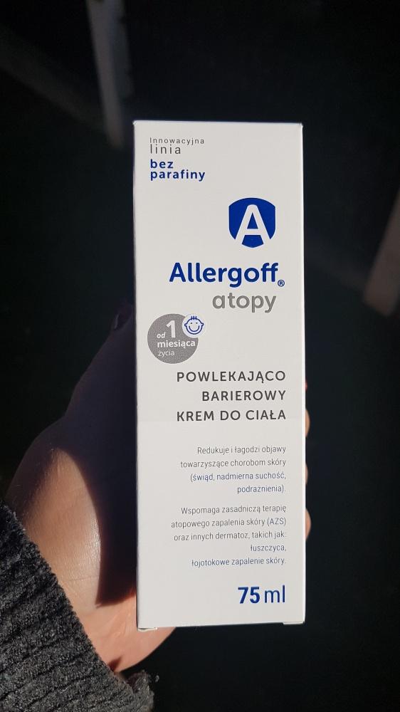 Allergoff Atopy Powlekająco Barierowy krem do ciała