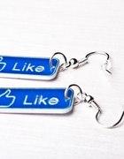 Kolczyki Facebook Like