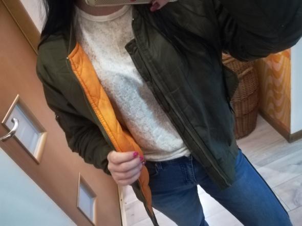 Bomberka khaki bomber jacket insta tumblr