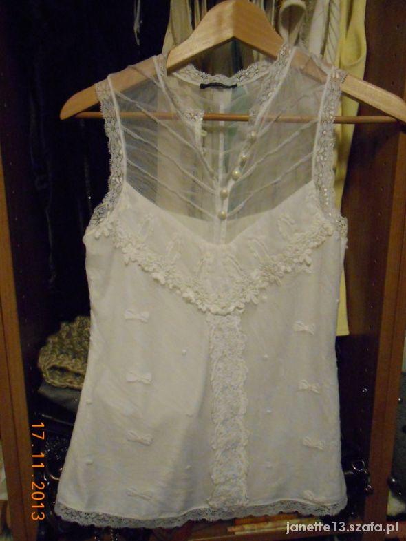 Biała bluzeczka ORSAY XS