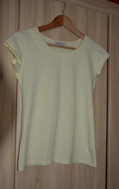 Koszulka cytrynowa S...