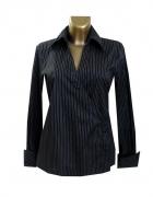 H&M Klasyczna Czarna Bluzka w Prążki 42 XL...