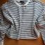 Nowa bluza crop top w paski primark