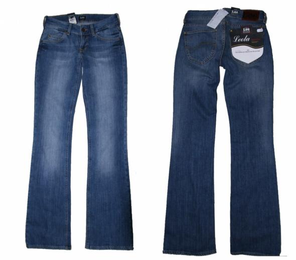 spodnie LEE LEOLA W26 L33 BOOT CUT ROZSZERZANE...