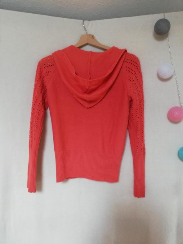 Sweter pomarańczowy dziecięcy 5 10 15...