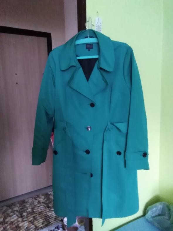 Odzież wierzchnia Zielony plaszcz