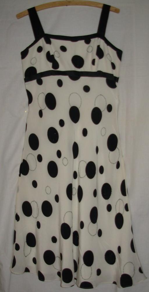 Jedwabna sukienka DEBENHAMS 40...