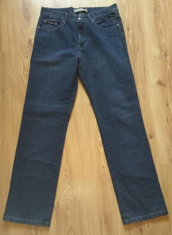 Nowe proste jeansy spodnie męskie 34