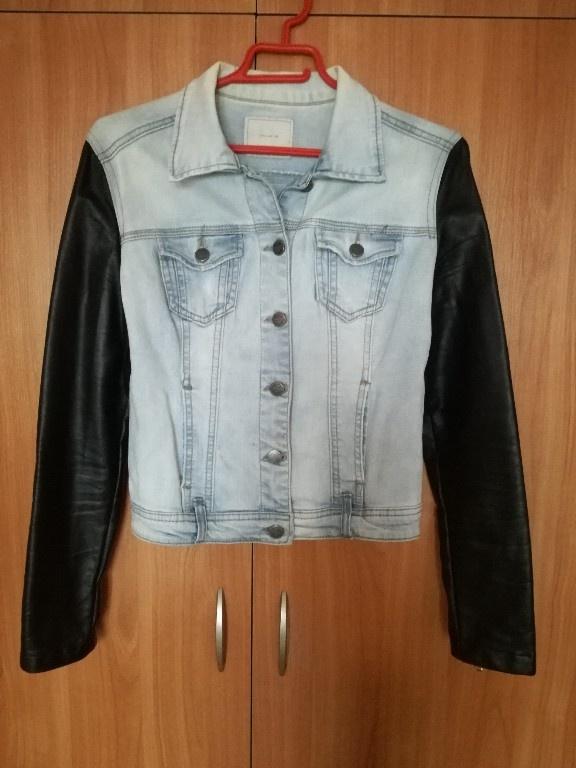 jeansowa kurtka katana reserved M 38...