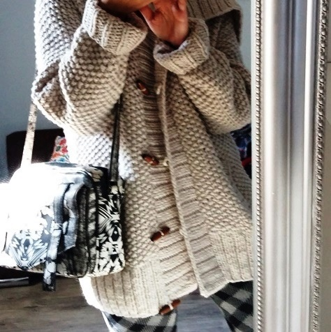 Gruby sweter