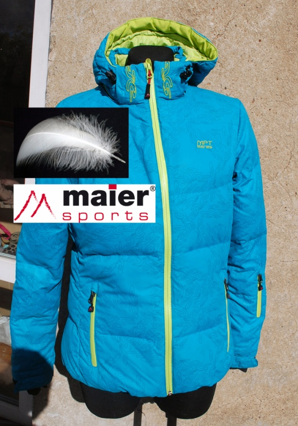 MAIER SPORTS kurtka narciarska z puchem piękna