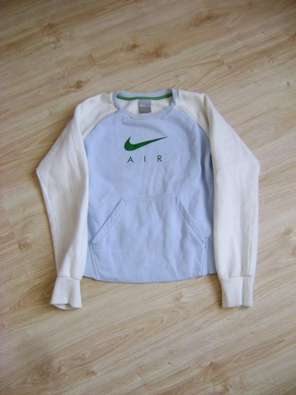 bluza niebieska Nike Air
