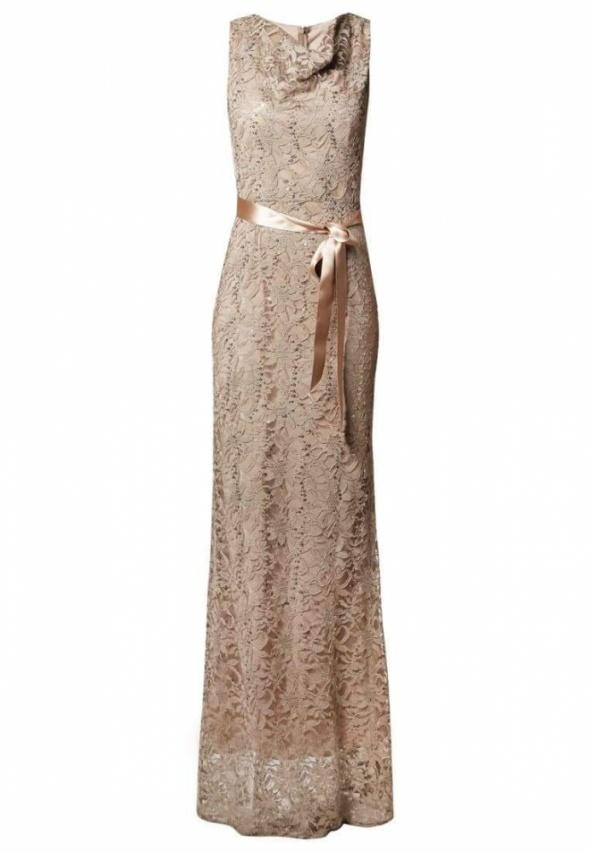 Nowa Young Couture By Barbara Schwarzer Sukienka wieczorowa...